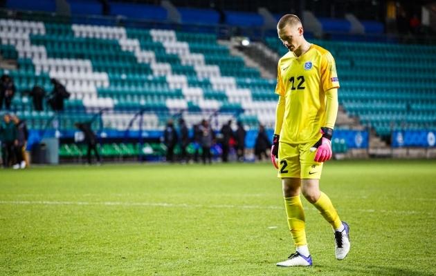 Karl Jakob Hein tõrjus penalti, aga Arsenali U23 tegi sellest hoolimata 3:3 viigi: Foto: Oliver Tsupsman