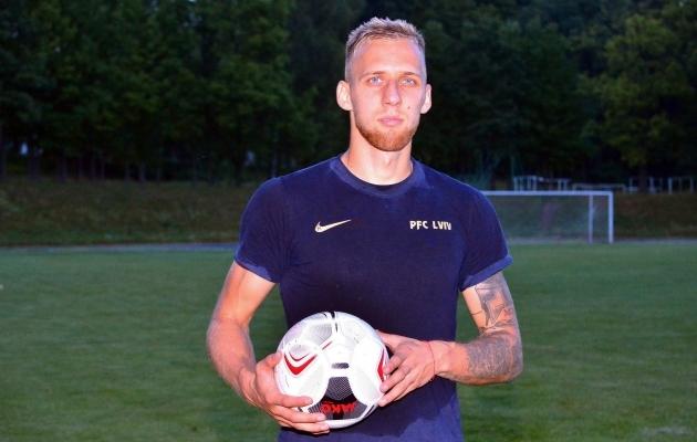Mihkel Ainsalu. Foto: FK Lvivi koduleht