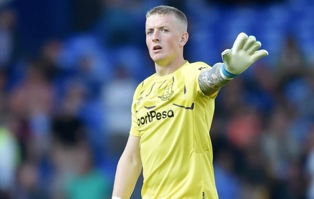 Jordan Pickford. Foto: evertonfc.com