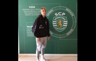 U17 koondislane näitab oskuseid Lissaboni Sportingule