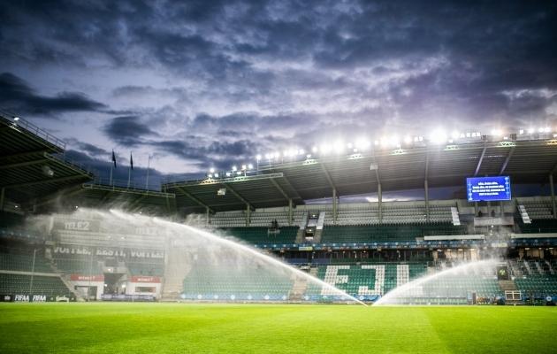 A. Le Coq Arena on küll Eesti suurima mahutavusega spordiobjekt, aga otsustajate arvates ikkagi liiga väike, et sinna 150 inimest mahutada. Foto: Brit Maria Tael