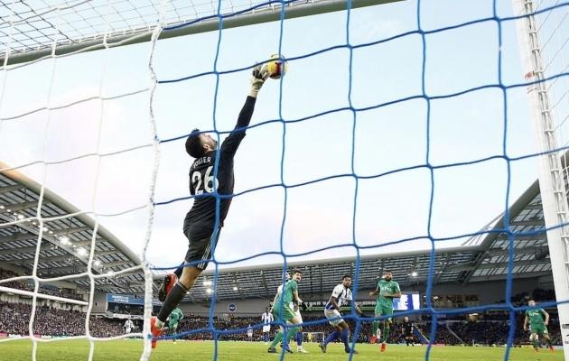 Inglismaa koondise väravavaht võttis mängu ajaks kaamera väravasse kaasa