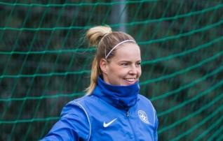 Karina Kork pingil istumist ei põe: mis teha, väravavahte ju ei vahetata 67. minutil sisse, et mine mängi ka
