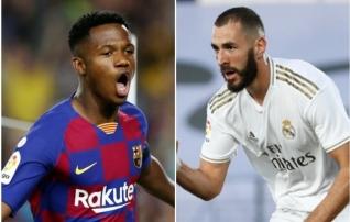 LIVE: kas esimese  El Clasico  pöörab enda kasuks nooruslik Barcelona või haavatud Real?  (poolaeg 1:1)