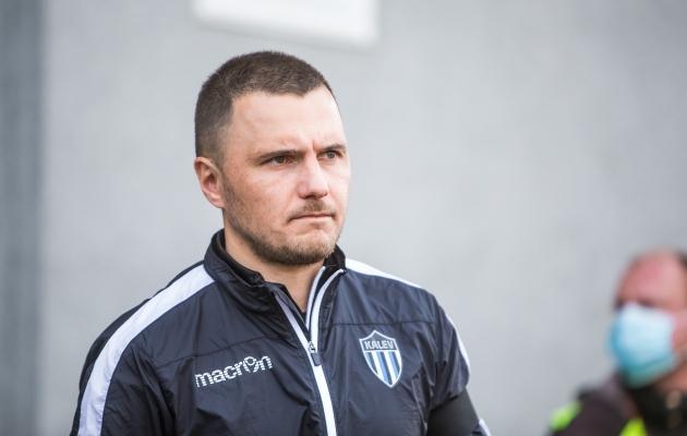 Dmitrijs Kalašnikovs. Foto: Jana Pipar / jalgpall.ee
