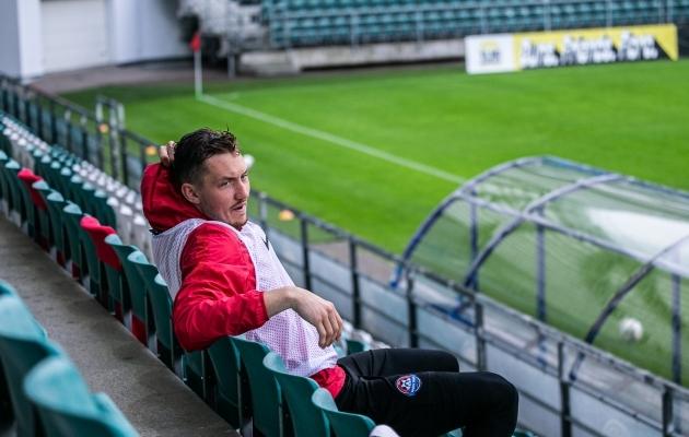 Andreas Vaikla ravib hetkel vigastust, aga peab nüüd hakkama ka uut koduklubi otsima. Foto: Brit Maria Tael