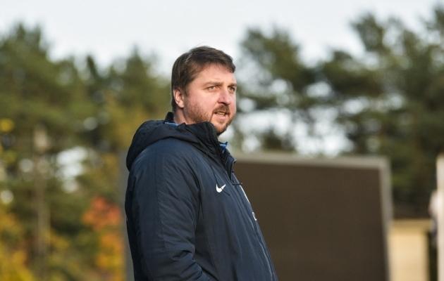 Paide peatreener Vjatšeslav Zahovaiko. Foto: Liisi Troska