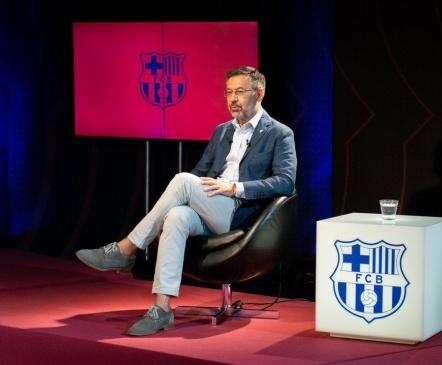 AMETLIK: Barcelona president astus tagasi  (