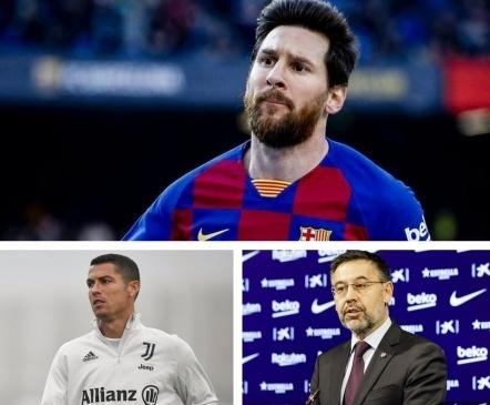 Oodatud lahing, mille eel on peakangelased Ronaldo ja Bartomeu, aga ajal Messi
