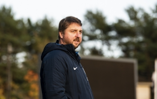 Vjatšeslav Zahovaiko. Foto: Liisi Troska / jalgpall.ee