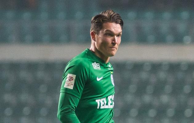 FC Flora poolkaitsja Markus Soomets. Foto: Jana Pipar / jalgpall.ee