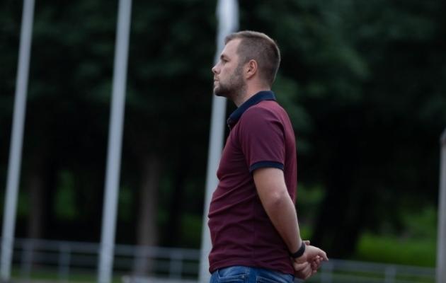 Nõmme Unitedi peatreener Martin Klasen. Foto: Raido Kull