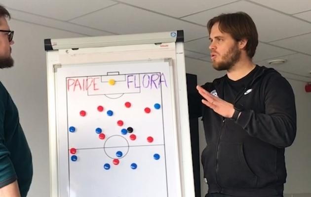Taktikaline analüüs: miks Flora-Paide mängus oodatud lahing keskväljal ära jäi?