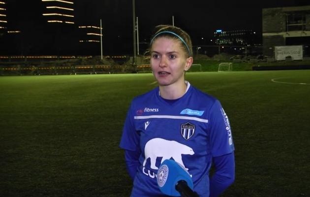 Anett Kadastu. Foto: Soccernet.ee