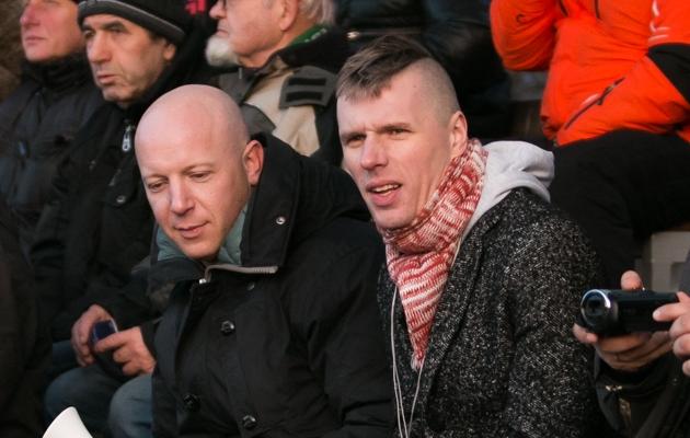 Alex Aalen (paremal) ütles, et nende jaoks olid EJL-i selgitused ammendavad. Foto: Jana Pipar (arhiiv)