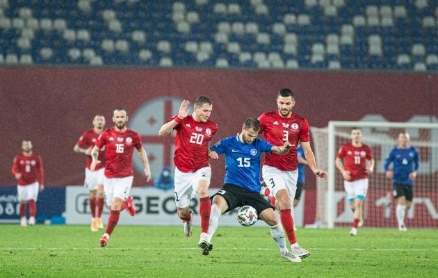Gruusia - Eesti kohtumine. Foto: Jana Pipar / jalgpall.ee