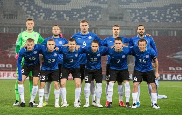 Eesti jalgpallikoondis. Foto: Jana Pipar / jalgpall.ee