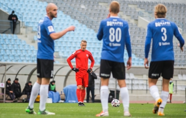 Legionil, Transil, Kuressaarel ja Kalevil on sel mängunädalal kaks kohtumist. Foto: Jana Pipar / jalgpall.ee