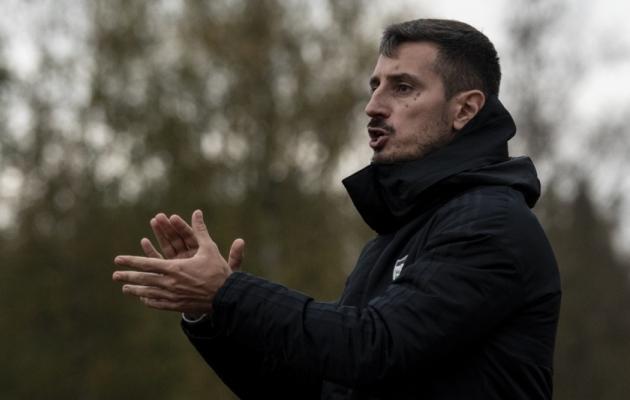 FCI Levadia peatreener Vladimir Vassiljev. Foto: Liisi Troska / jalgpall.ee