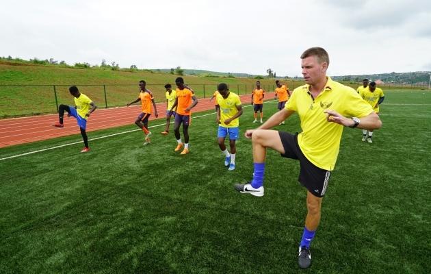 Jaanus Reitel Heroes FC treeningul. Foto: Ivar Heinmaa