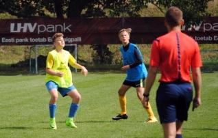 Poiste piirkondlikel treeningutel osales kolmandik ühe aastakäigu mängijatest