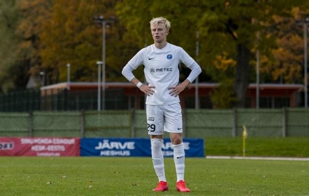 Patrick Genro Veelma valiti parimaks noormängijaks. Foto: Liisi Troska / jalgpall.ee