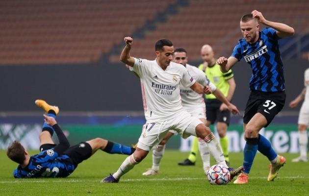 Real oli Interist igas elemendis üle. Foto: Real Madrid / Twitter