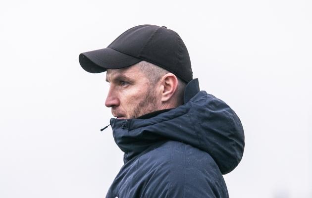 FC Kuressaare peatreener Roman Kožuhhovski. Foto: Brit Maria Tael