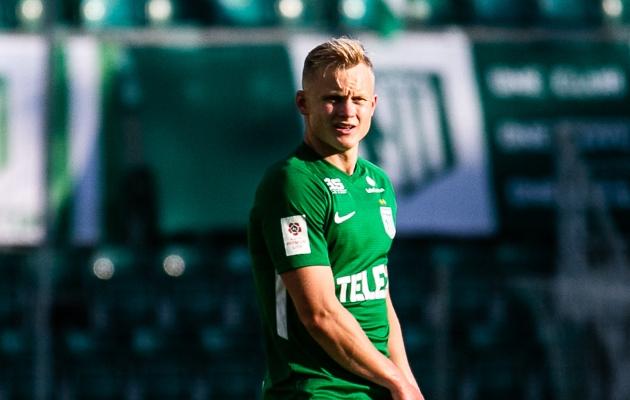 FC Flora paremkaitsja Michael Lilander. Foto: Brit Maria Tael