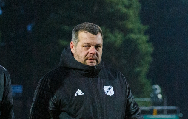 Nõmme Kalju peatreener Marko Kristal. Foto: Oliver Tsupsman
