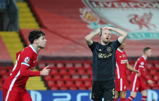 Ajax jättis võimaluse kasutamata, aga on ikkagi oma saatuse sepp. Foto: Meistrite liiga Twitter