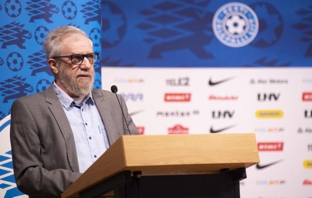 Riigikogu liige Mihhail Lotman. Foto: Liisi Troska / jalgpall.ee