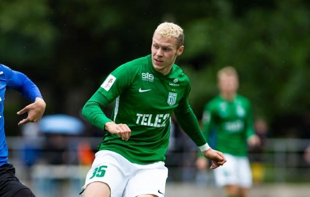 FC Flora poolkaitsja Markus Poom. Foto: Raido Kull
