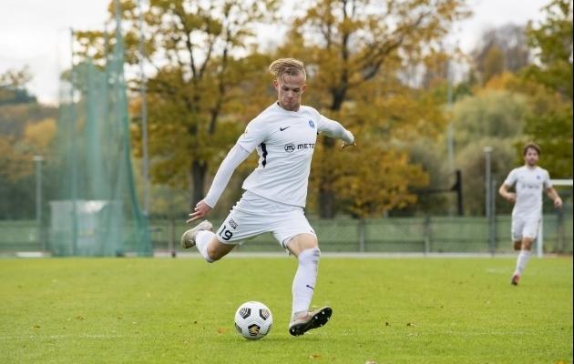 Tristan Koskor. Foto: Liisi Troska / jalgpall.ee