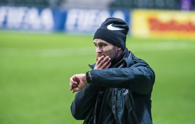 Eelmise aasta parim treener Jürgen Henn. Foto: Jana Pipar / jalgpall.ee