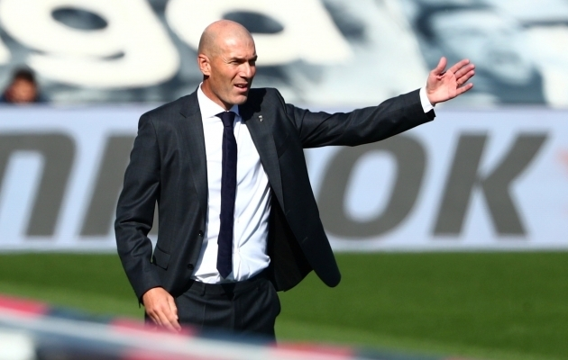 Zinedine Zidane. Foto: Scanpix / Javier Barbancho / Reuters
