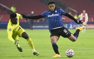 Atalanta võitis otsustavas alagrupimängus Ajaxit