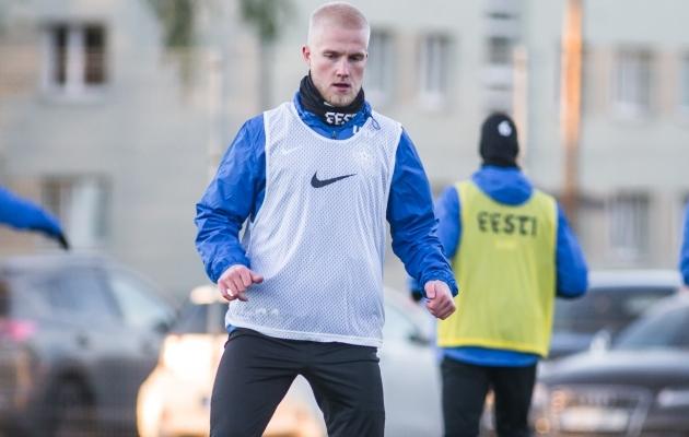 Henri Järvelaid. Foto: Jana Pipar / jalgpall.ee