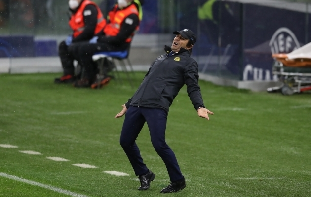 Antonio Conte. Foto: Scanpix / Jonathan Moscrop / Zuma Press