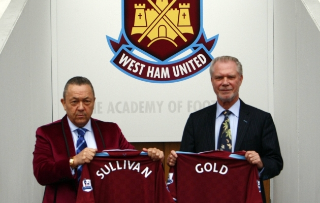 David Sullivan ja David Gold. Foto: Scanpix / imago images/Colorsport