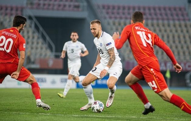 """Mihkel Ainsalu on öelnud: """"Võib-olla olengi jalgpallimaailmas mängijana ülbe persevest? Äkki ongi lihtsalt nii?"""" Foto: Jana Pipar / jalgpall.ee"""