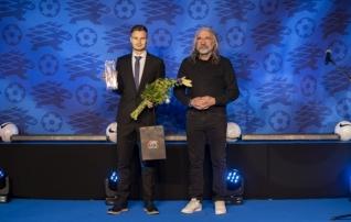 Eesti parimad jalgpallurid on Rauno Sappinen ja Kristina Bannikova  (galerii)