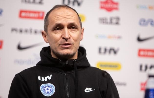 Eesti jalgpallikoondise peatreener Thomas Häberli. Foto: Jana Pipar / jalgpall.ee