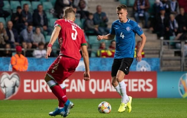 Eelmises EM-valiksarjas jäi Eesti koondise saldoks mängudes Valgevenega kaotus kodus ja viik võõrsil. Tänavuses MM-valiksarjas saab uuesti nendega jõudu proovida. Foto: Jana Pipar / jalgpall.ee