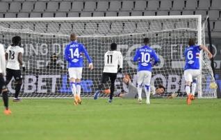 Spezia kerkis liigatabelis Sampdoriale lähemale