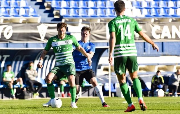 Ferencvaros - Eesti. Foto: Liisi Troska / jalgpall.ee