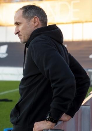 Eesti koondise peatreener Thomas Häberli. Foto: Liisi Troska / jalgpall.ee