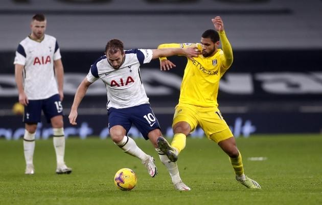 Harry Kane lööb palju väravaid, aga ainult talle lootmine maksis Spursile jälle kätte. Foto: Scanpix / PA Wire / PA Images / Matthew Childs