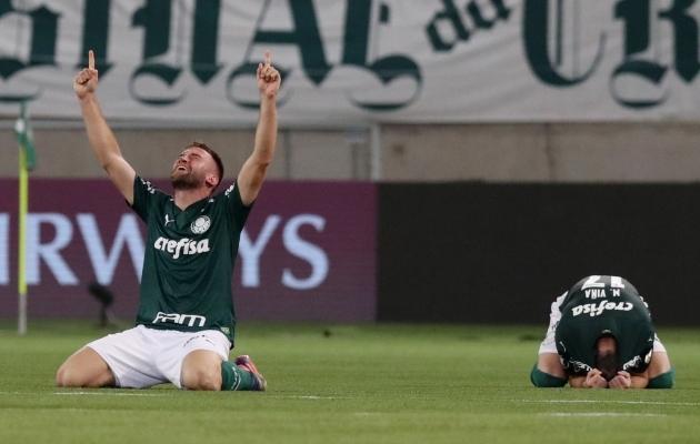 Palmeiras teenis pääsme finaali. Foto: Scanpix / Amanda Perobelli / Pool via Reuters