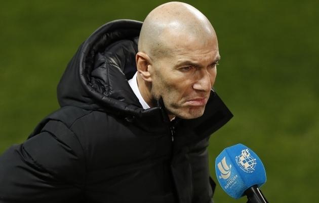 Zinedine Zidane. Foto: Scanpix / Jorge Zapata / EPA